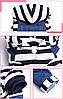 """Комбинезон, костюм  с кофтой """"Морячок"""" для собаки. Одежда для собаки, фото 3"""