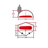 Палатка Wechsel Scout 1 Zero-G (Pear) + коврик (1 шт.), фото 6