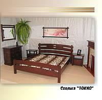 """Спальня """"Токио"""" (кровать, тумбочки, комод). Массив - сосна, ольха, дуб."""