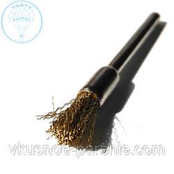 Щетка кисточка для чистки спирали (металл)