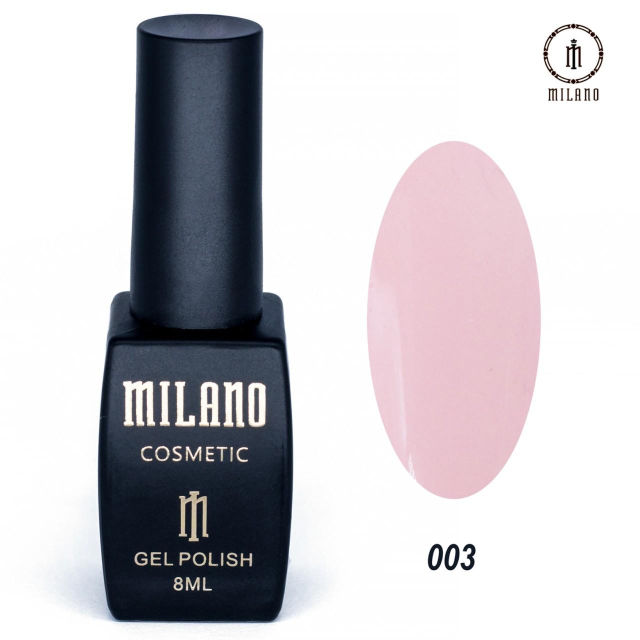 "Гель лак ""Milano"" 003, 8мл"