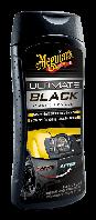 Meguiar's  Ultimate Black Plastic Restorer Lotion  Чернение пластика, винила, резины  355 мл