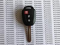 Оригинальный ключ для Toyota (Тойота) 2+1 кнопка с H-чип/315MHz
