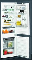 Встраиваемый холодильник с нижней морозилкой Whirlpool ART 6711/A++ SF