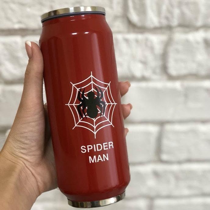 Термокружка Человек-паук (Spider Men) 450 мл