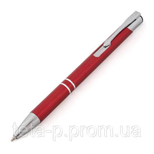 Ручка металлическая DUNA шариковая с насечками
