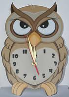 "Настенные часы ""Сова суровая"" (owl)"