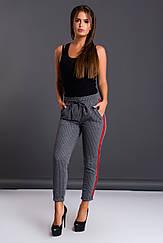 Женские брюки с лампасами, Турция. 2406