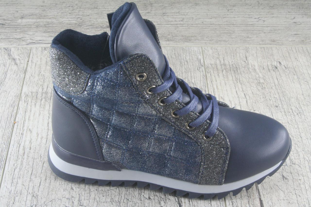 Ботинки, сапоги подростковые GFB, обувь демисезонная из эко кожи, Размеры 32-37