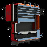 Жаротрубные отопительные котлы Altep Max 700 кВт, фото 3