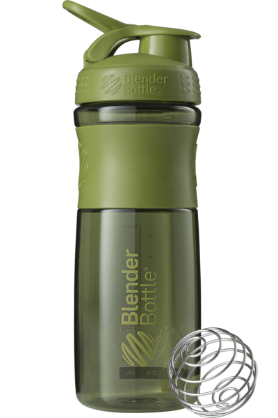 Спортивная бутылка-шейкер BlenderBottle SportMixer 820ml Moss Green (ORIGINAL)