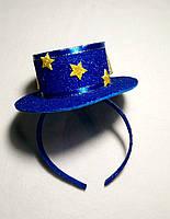 Карнавальная шляпка на обруче