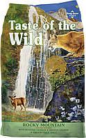 Сухой корм Taste Of The Wild Rocky Mountain с мясом жареной оленины и копченым лососем для котов, 6.80 кг