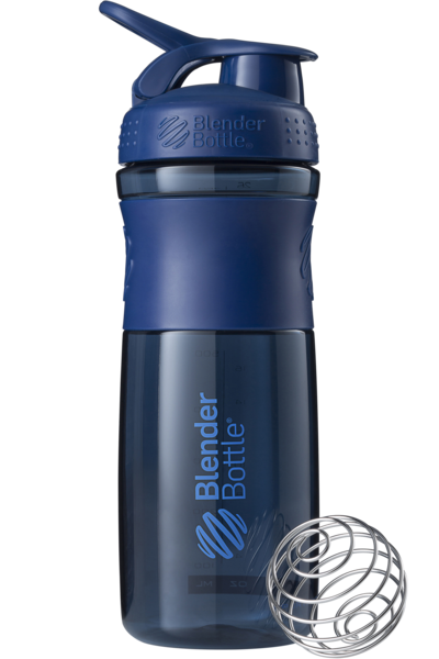Спортивная бутылка-шейкер BlenderBottle SportMixer 820ml Navy (ORIGINAL)