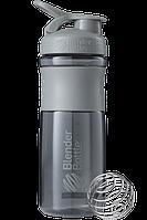 Спортивная бутылка-шейкер BlenderBottle SportMixer 820ml Grey (ORIGINAL) , фото 1