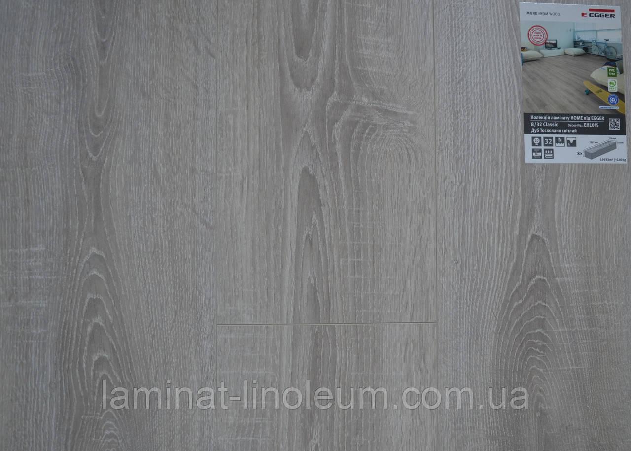 Ламинат Egger home Classic 4V Дуб тосколано светлый EHL015 для пола в офис, квартиру, дом, комнату, кухню