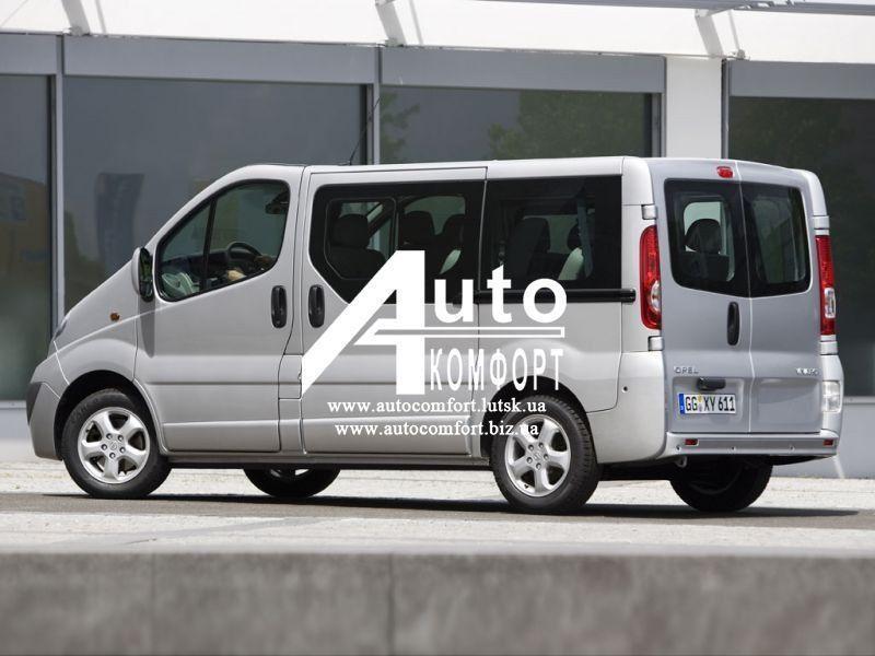 Установка (врезка) стекла на Renault Trafic, Opel Vivaro, Nissan Primastar (Рено Трафик, Опель Виваро, Ниссан