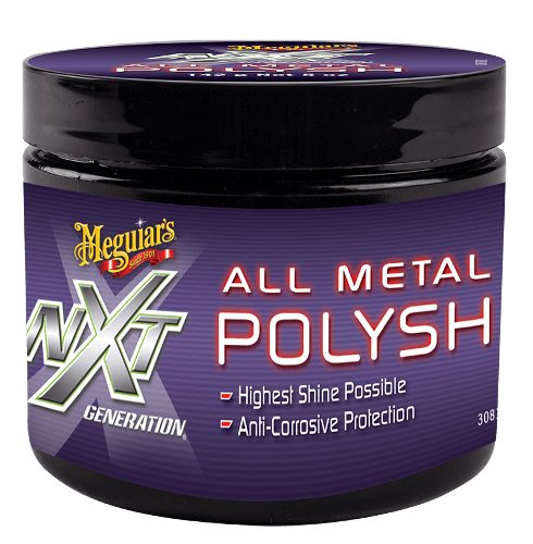 Meguiar's NXT Generation All Metal Polish Очищувач-поліроль для металу 148 мл