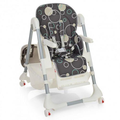 Стульчик для кормления Bambi M 3822-11, серый