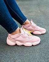 """Кроссовки женские Adidas Yeezy 500 Pink """"Розовые"""" р. 36-40, фото 1"""