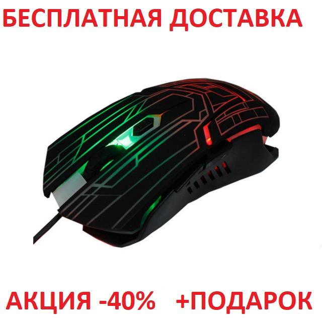 Мышь компьютерная проводная USB A112 / FC5215 Blister case WiRed mouse for PC