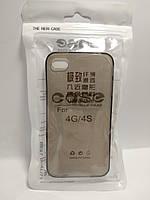 Силіконовий чохол Iphone 4 / 4s The New Case тонований