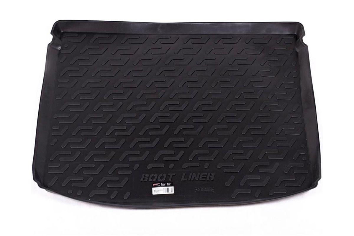 Коврик в багажник для Mercedes-Benz B (W245) HB (08-11) полиуретановый 127020101