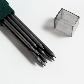 Графитный грифель для цанговых карандашей Faber-Castell ТК 9071 тверд. 4B (3.15 мм), 10 шт. в пенале, 127104, фото 2