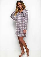 Ночная рубашка женская Dalia 1191 от TM Taro (Польша) Реальные фото! Цвет  серый 23f757c38949b