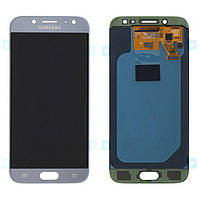 Дисплей (экран) для Samsung J530 Galaxy J5 (2017) + тачскрин, голубой, TFT