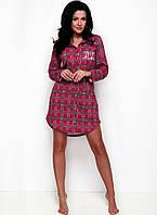 Ночная рубашка женская Dalia 1191 от TM Taro (Польша) РАЗМЕР XL красный b3694176759ad