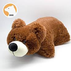 Подушка-игрушка Плюшевый Мишка, коричневый