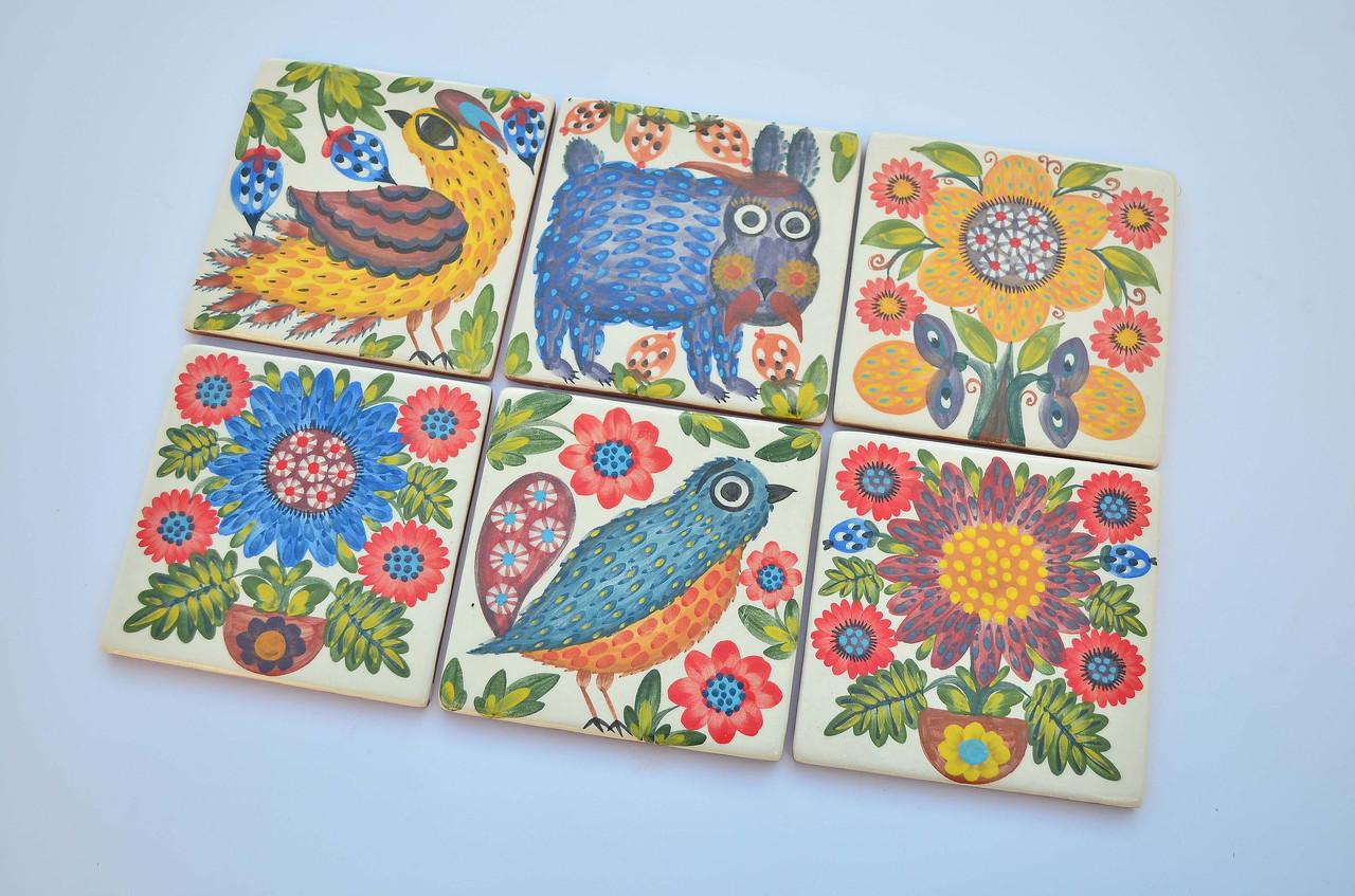 Плитка, изразцы керамические