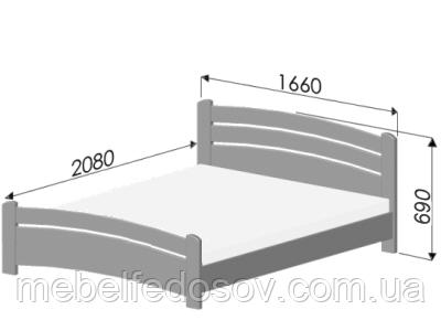 кровать венеция эстелла размер