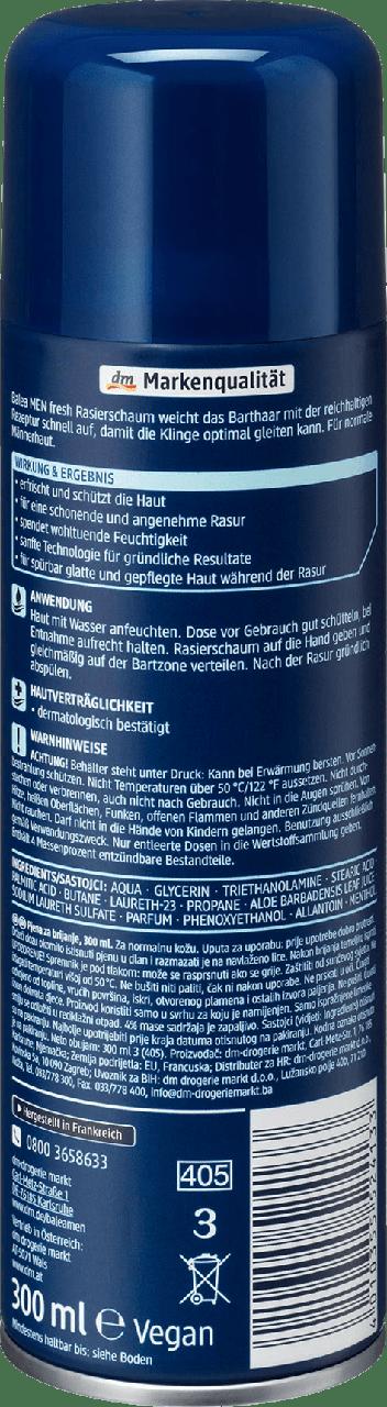 Пена для бритья Balea Men Fresh, 300 ml. - фото 3