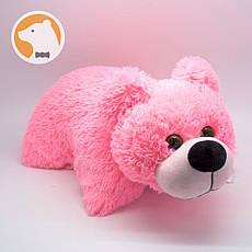 Подушка-игрушка Плюшевый Мишка, розовый