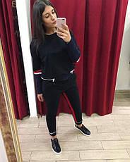 Костюм спортивный женский черный, фото 3