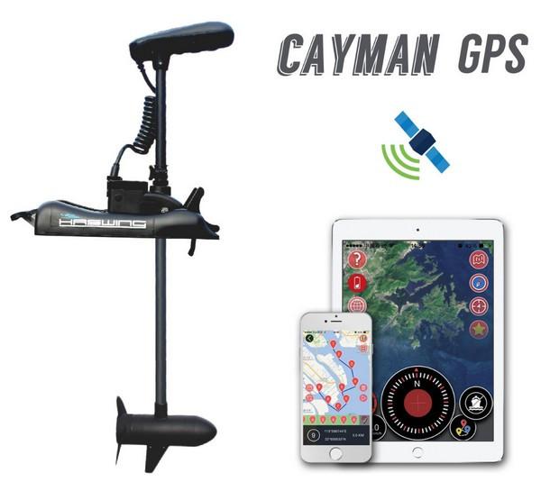 Электромотор с GPS Haswing Cayman B 55Lbs