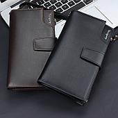 Новинка!!!Шкіряне портмоне-клатч ручної роботи Baellerry Itali Бізнес