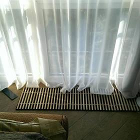 Решетка для внутрипольного конвектора из дерева по внутренним размерам короба. 2