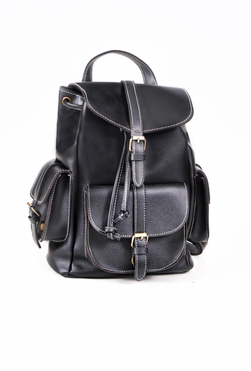 Рюкзак винтажный Mojoyce черный (683)