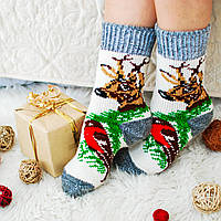 Жіночі шкарпетки із шерсті