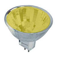 Лампа КГИ 12-35 Ultra MR-16 жовта