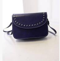 Женская маленькая сумочка синяя опт, фото 1