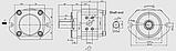 Насос шестерённый PGI103 Hydac, фото 2