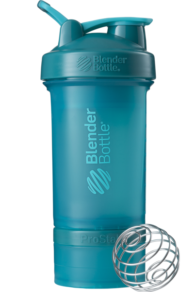 Шейкер спортивный BlenderBottle ProStak 650ml с 2-мя контейнерами Teal (ORIGINAL)