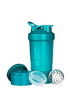 Шейкер спортивный BlenderBottle ProStak 650ml с 2-мя контейнерами Teal (ORIGINAL) , фото 2