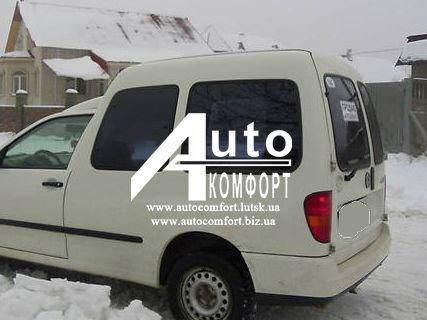 Задний салон, левое окно на автомобиль VW Caddy, Siat Inka (97-03) (Фольксваген Кадди, Сиат Инка 97-03), фото 2