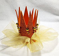 Корона для принцесс на резинке на карнавал