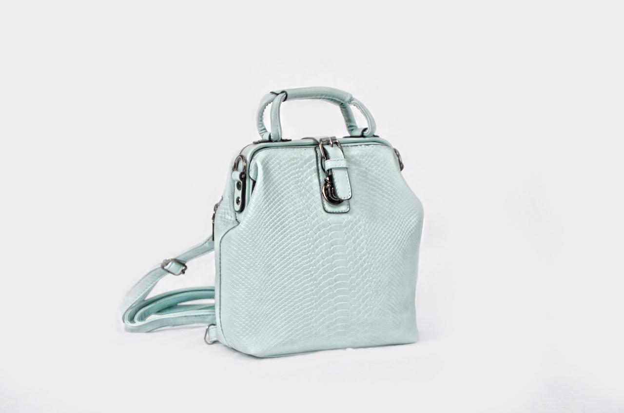 Сумка рюкзак женская L&M голубой (AV020)